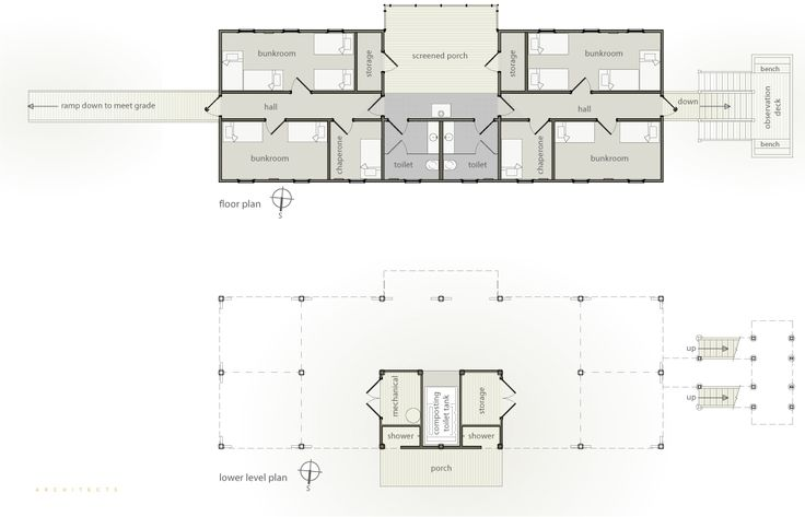 Pin by cookie 39 s fish camp on guests of guests pinterest Bunkhouse floor plans