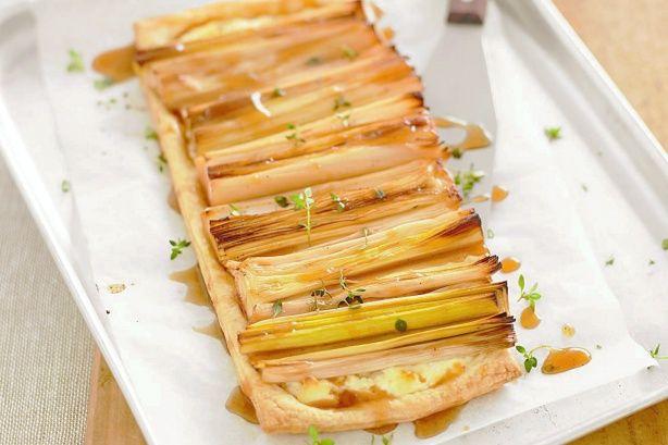 Caramelised Leek And Ricotta Tarts Recipe |Recipe Ideas|Egg Recipes