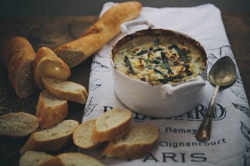 Spring vegetable and goat cheese dip | Taste | Pinterest