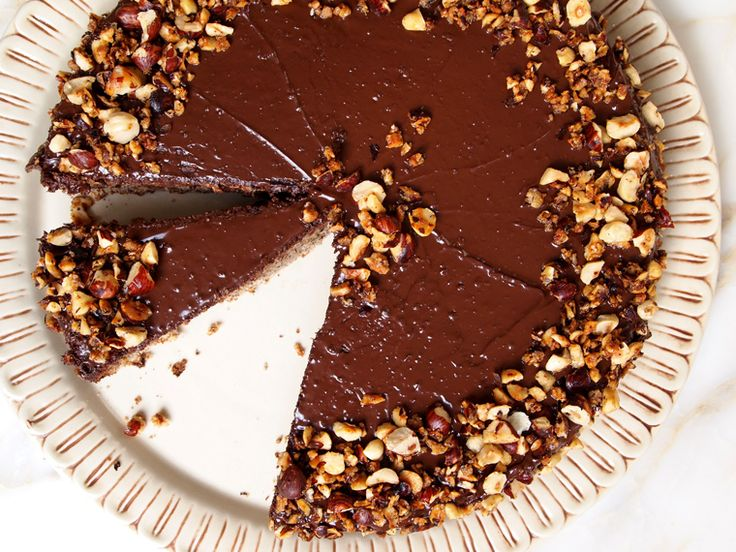 Flourless Chocolate Hazelnut Cake | Desserts, Sweets, and Breads | Pi ...