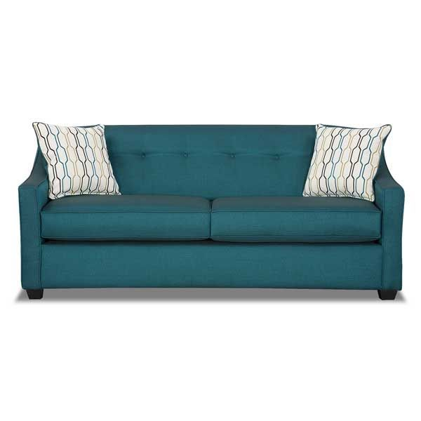 Leona Peacock Teal Sofa | Furniture and Decor | Pinterest