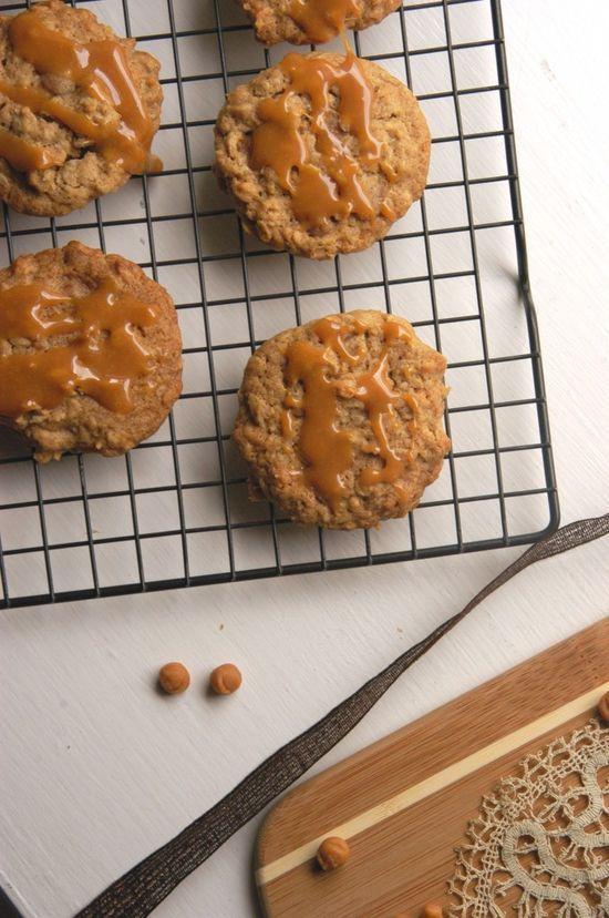Caramel oatmeal cookies   Cookies/Bars/Brownies   Pinterest