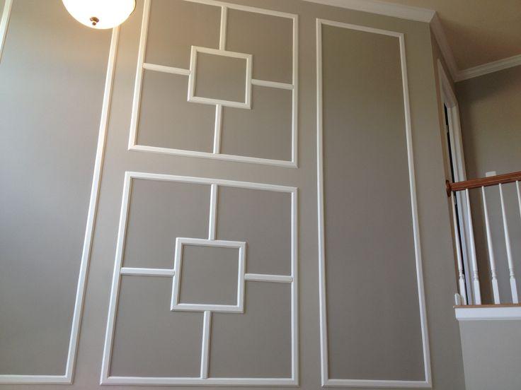 Foyer Trim Ideas : Foyer molding at bryans crossing diy pinterest