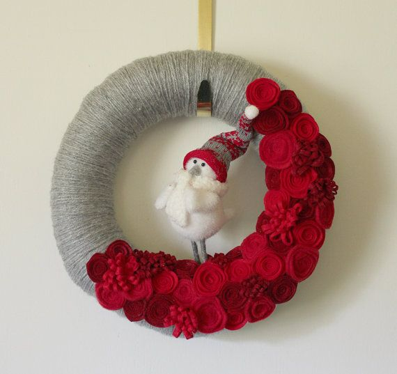 Holiday wreath by The Bakers Daughter
