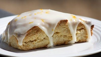 Brandy's Baking: Glazed Orange Scones | Pastries | Pinterest