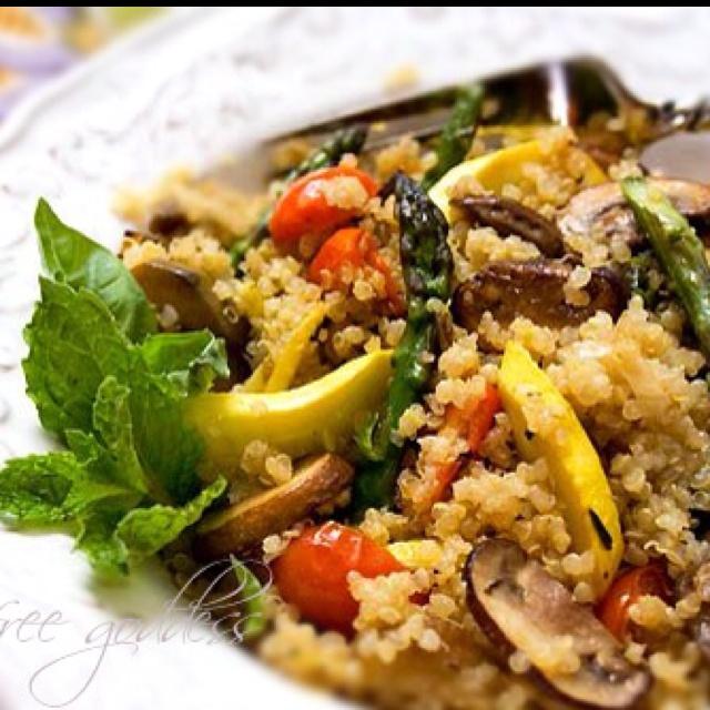 Quinoa Summer Vegetable Stir Fry | Fabulous Food | Pinterest