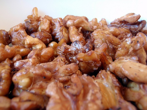 Easy Sour Cream Candied Walnuts