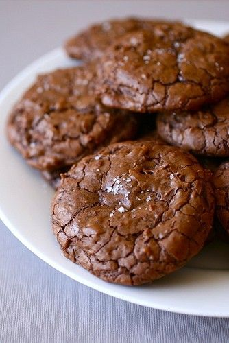 Salted Double Chocolate Chunk Cookies | THINGS I LOVE | Pinterest