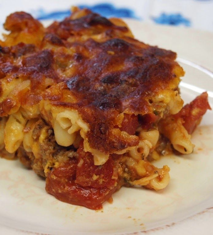 Ohio Thoughts~: Johnny Marzetti Recipe and History - Why have I never ...