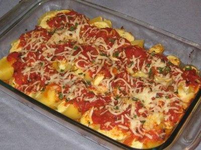 baked stuff pasta | McKenzie's bday party idea's | Pinterest