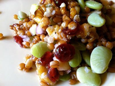 ... berry salad and wheat berry salad with lemon vinaigrette bourbon and