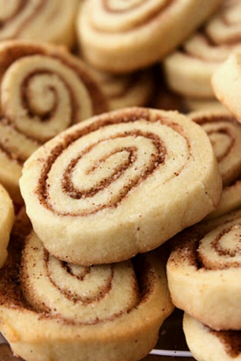 Cinnamon Roll Cookies | Food for Thought | Pinterest