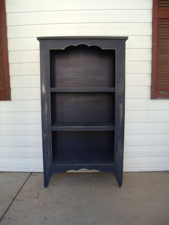 Painted Bookcase Diy Furniture Wood Pinterest