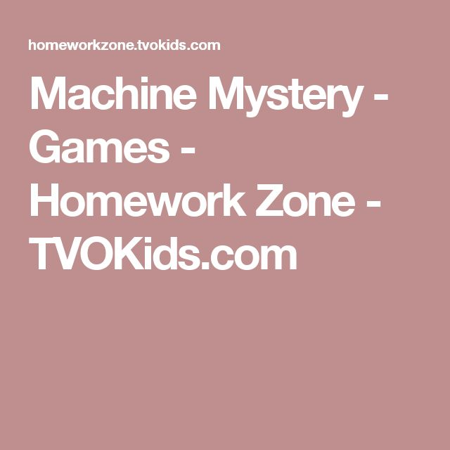 tvo kids homework zone