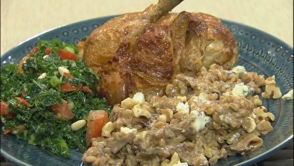 and gorgonzola farro risotto sweet potato and gorgonzola farro risotto ...