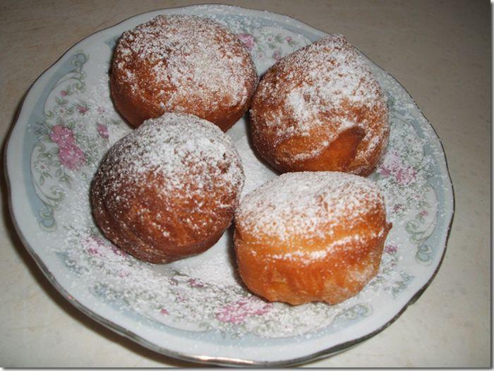 Пончики воздушные рецепт с фото с начинкой