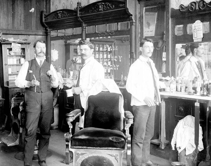 Barber Shop Henderson : ... barber shop 1900 photo barber pole razor shave hair cut barber chair
