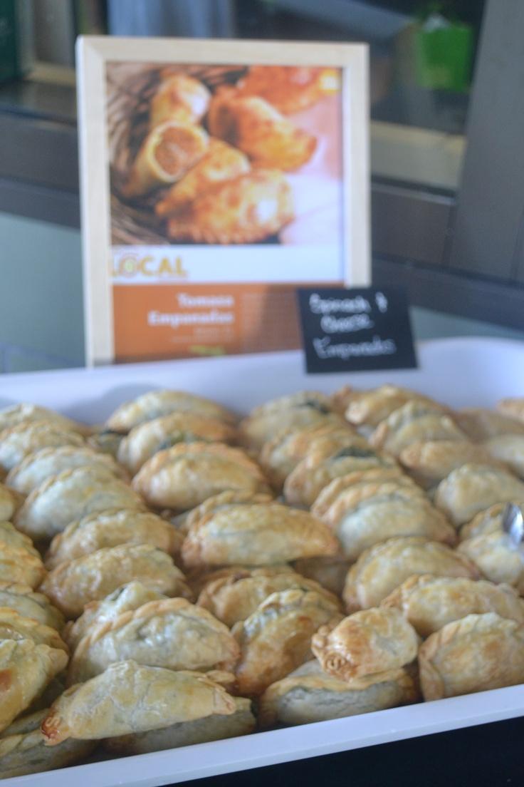 Spinach & Goat Cheese Empanadas. | Favorite Recipes | Pinterest