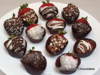 ... this: sea salt caramel , chocolate covered strawberries and sea salt