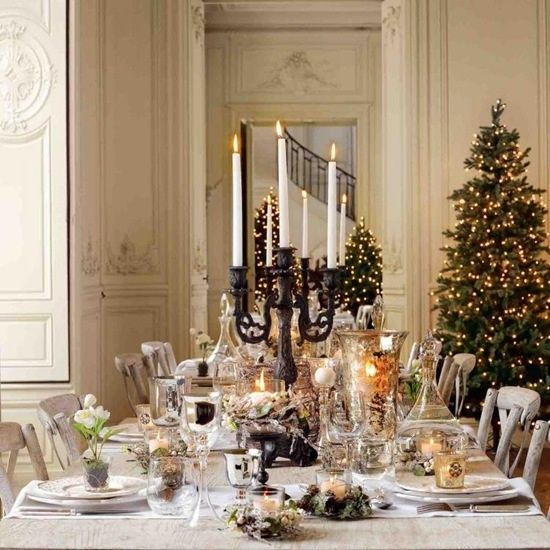 Tablescape for christmas holidays pinterest - Christmas dinner decorations pictures ...