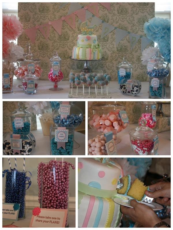 gender reveal party baby and bridal shower ideas pinterest