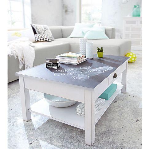 Couchtisch mit Tafellack in weiss Interieur Design Pinterest