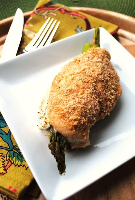 ... : Simplify: Chicken Breasts Stuffed with Cheese, Tomato and Asparagus