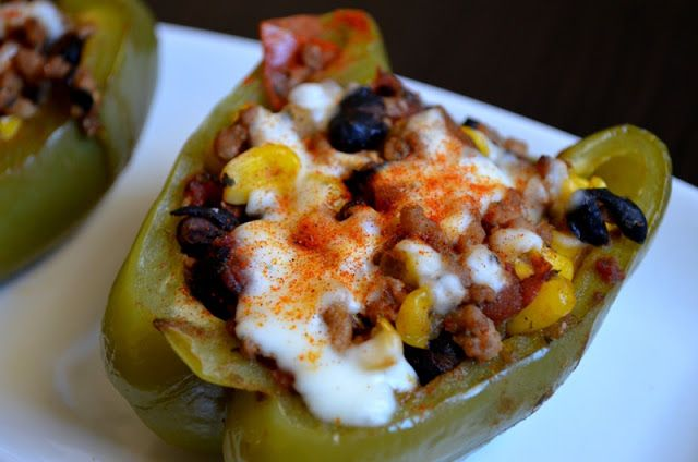 Santa Fe Turkey Stuffed Peppers Recipes — Dishmaps