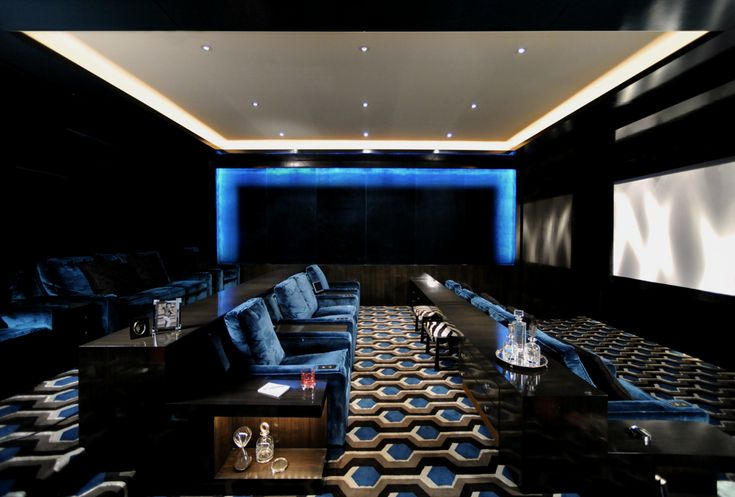 Home Cinema Design Impressive Inspiration