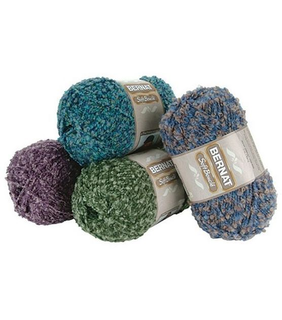 Boucle Yarn : Bernat Soft Boucle Yarn at Joann.com Crochet How Pinterest
