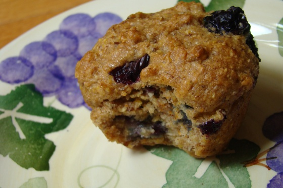 Blueberry Corn Muffins (Gluten Free, Dairy Free, Vegan) A la Karina ...