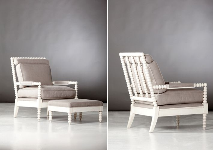 white spool chair Living Rooms