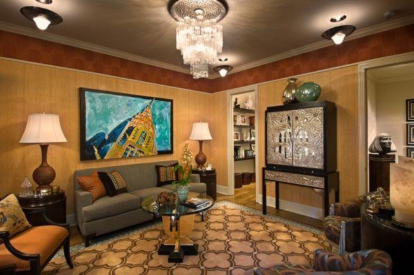 Art Deco Living Room Image Review