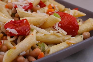 Penne with White Bean and Tomato Sauce