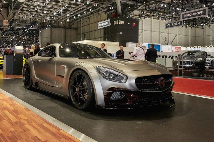 Mansory Mercedes AMG GT S, Coupe, Geneva Auto Show 2016, silver Autos, Coupé und Mercedes AMG
