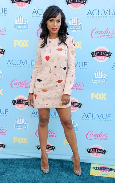 Teenage Dreams: The Best Looks at the Teen Choice Awards 2013 - Kerry Washington