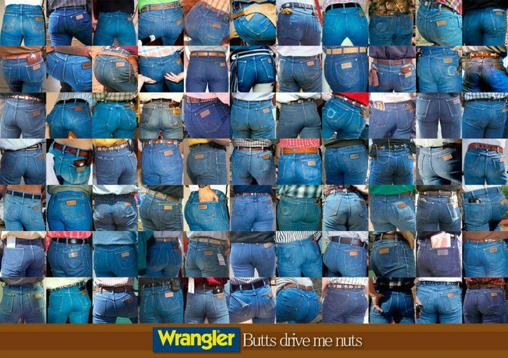 wrangler butts drive me nuts!