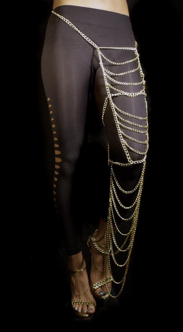 leg chain jewelry my style