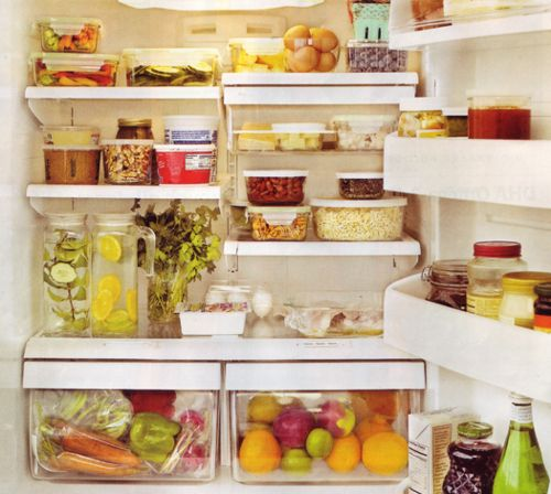 """The perfectly stocked fridge. 