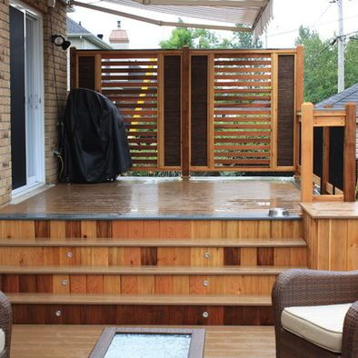 Patio privacy screen backyard pinterest for Balcony privacy solutions