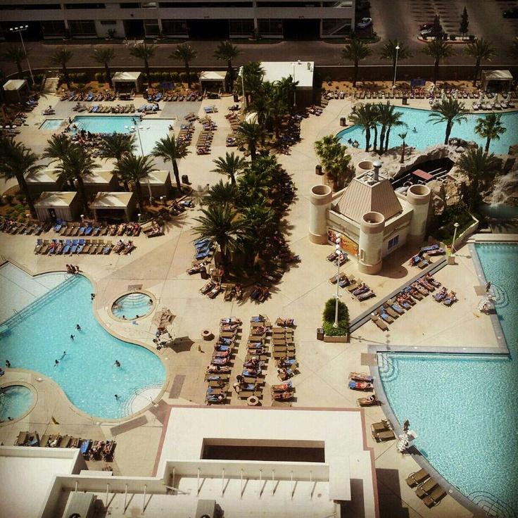 Excalibur Pool View Favorite Places Spaces Pinterest