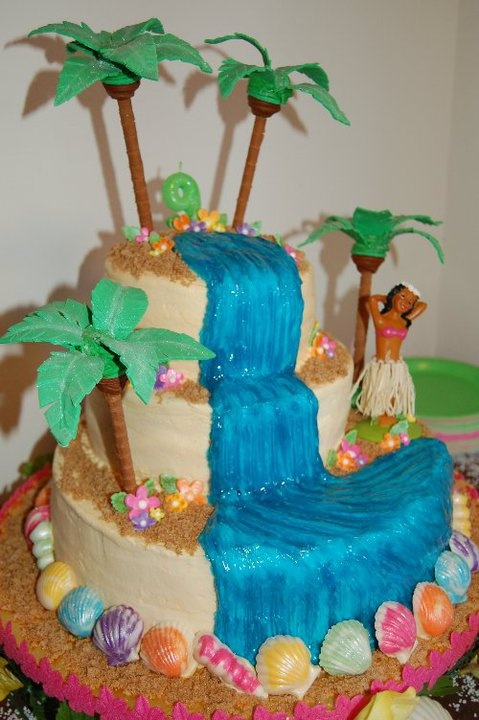 Luau Cakes Ideas 10th B Day 99414 Haiwaiian Luau Birthday