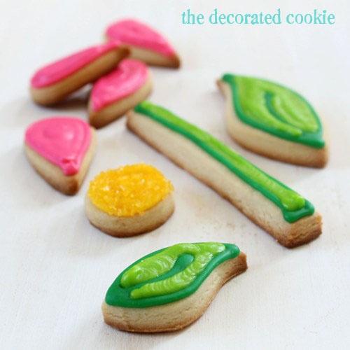 Flower Puzzle Cookies | Cute Eats | Pinterest