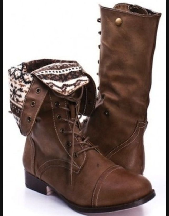 Brown Combat Boots For Women Pictures to Pin on Pinterest - PinsDaddy