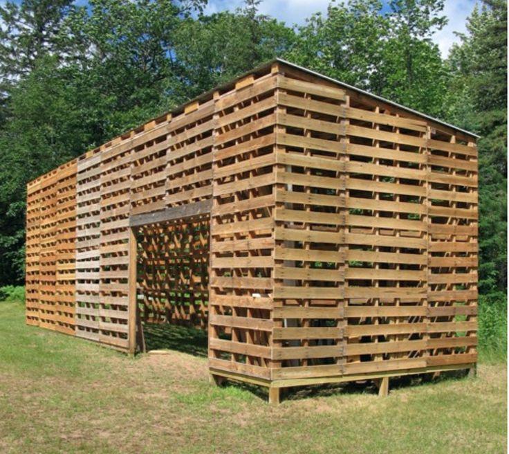 pallet shed | Backyard | Pinterest
