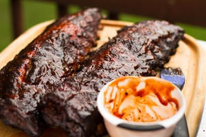 grilled barbecued ribs recipe yummly southern grilled barbecued ribs ...