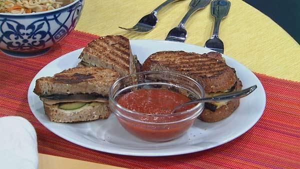 Grilled Vegetable Panini | Healthy Foooooood | Pinterest