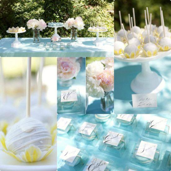 ... Unique Tiffany Blue Bridal Shower | Bridal Shower Invitations