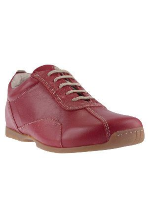 Leather Rosewood Shoe