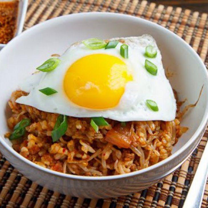Kongnamul Bap (Korean Beansprout Rice Bowl) Recipe